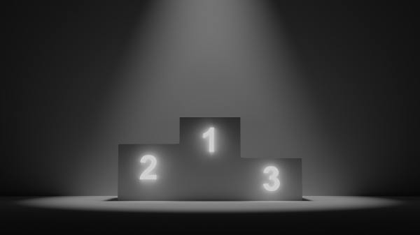 winners stage